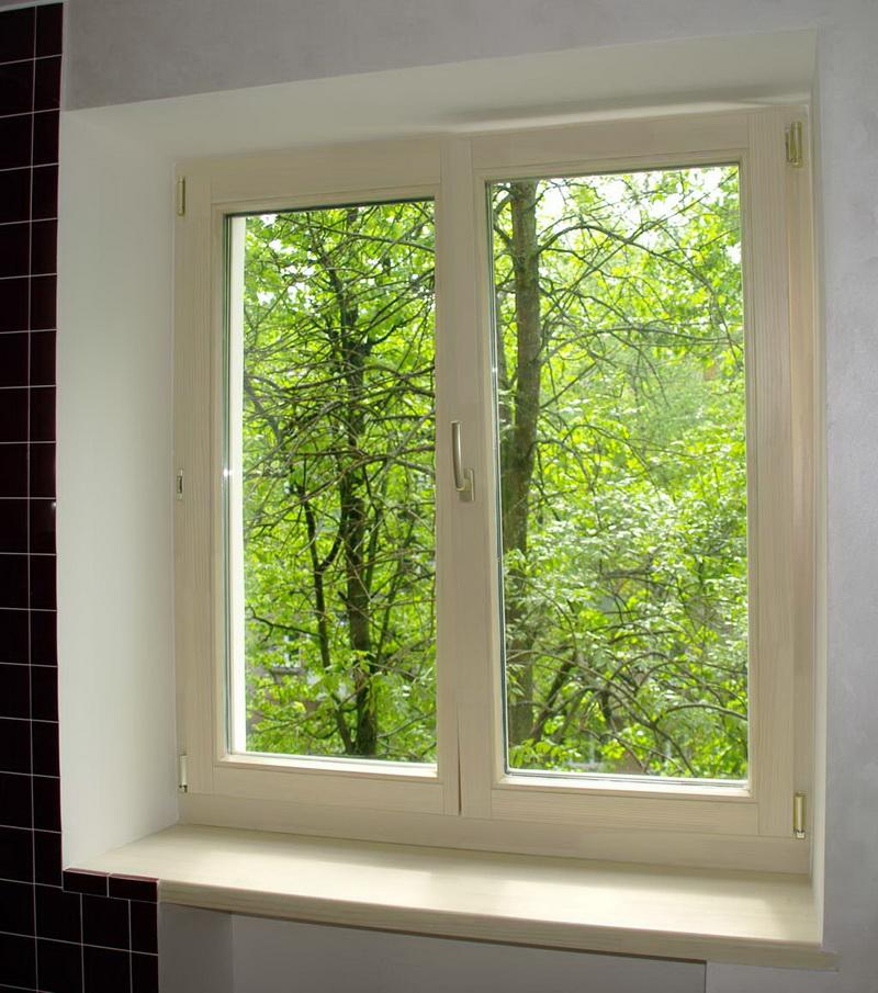 Деревянные окна купить в орле